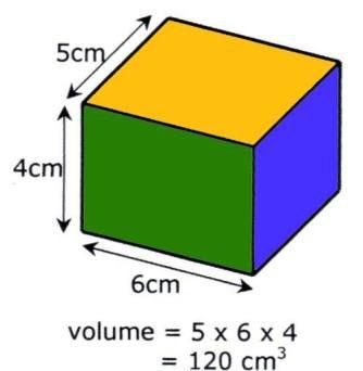 figura geometrica con formula calcola e converti il volume
