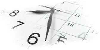 orologio calendario convertitore