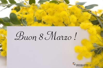 Auguri Buon Compleanno 8 Marzo.Cartoline Dedicate Per La Festa Della Donna