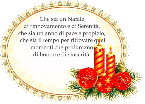 cartolina con frase di congraturazioni natalizie