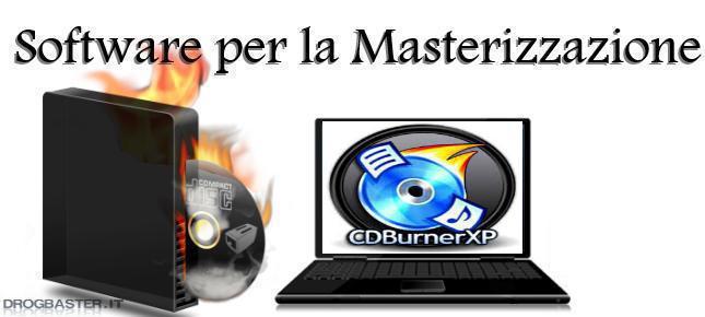 CDBurnerXP: Masterizza CD DVD