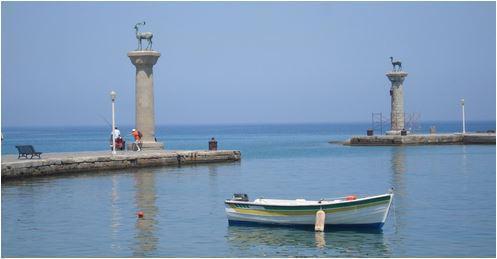 colonne della città di Rodi