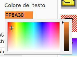 esempio color picket