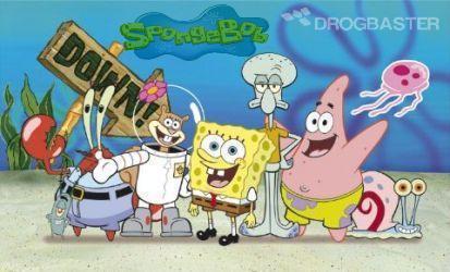 gioco colora Spongebob