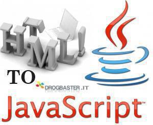converti html in javascripts