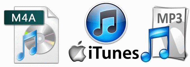 convertire m4a in mp3 con itunes