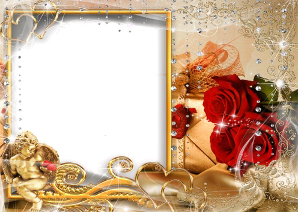 Cornici per foto di san valentino cornice per innamorati - Immagini da colorare di rose ...