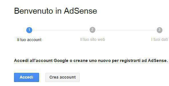 crea account adsense