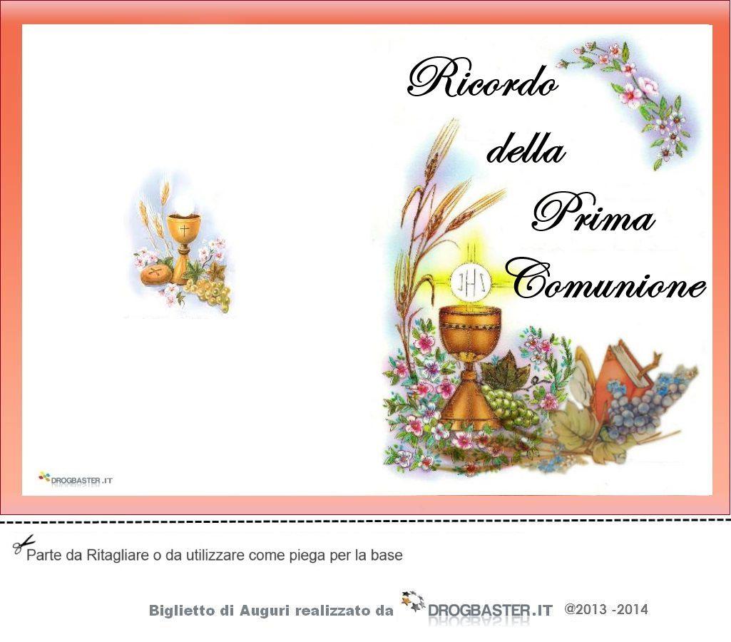 Preferenza Biglietti ringraziamento Prima Comunione e Cresima RN12