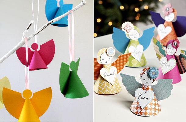 Lavoretti decorazioni addobbi natalizi fai da te - Decorazioni natalizie per bambini fai da te ...