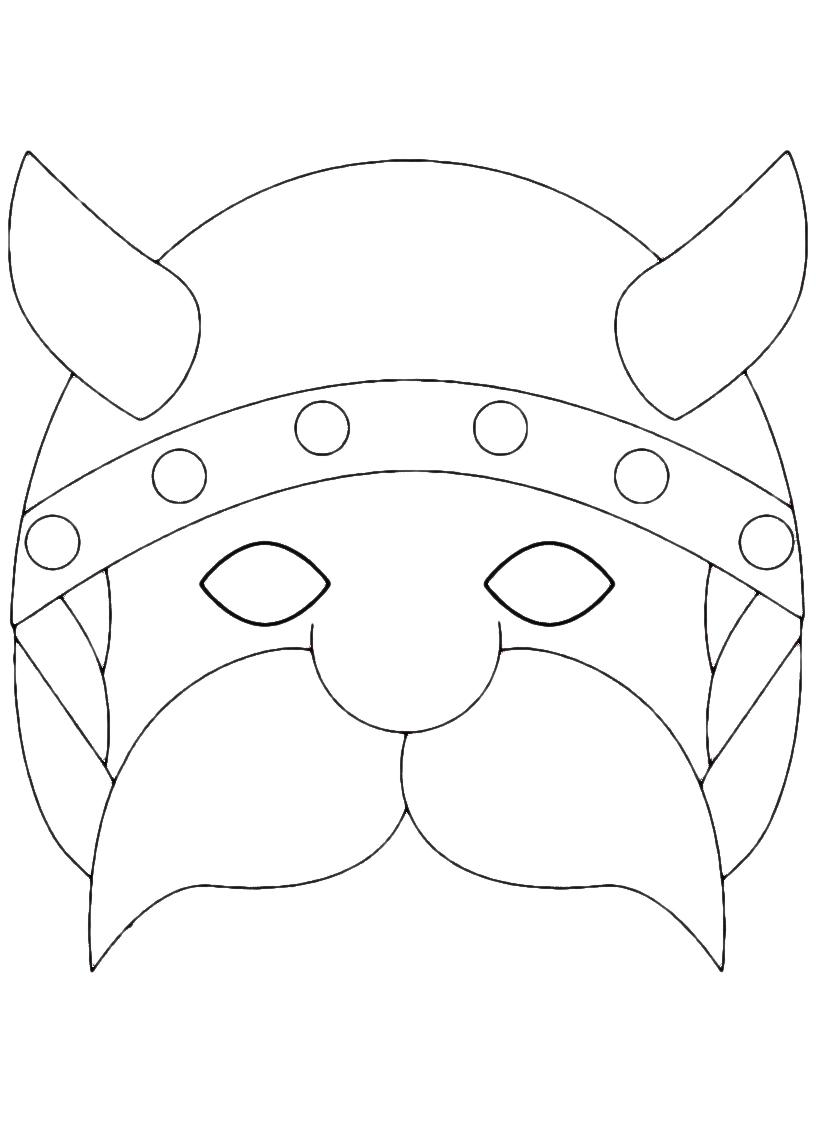 Stampa e colora le maschere di carnevale tanti personaggi for Maschere di carnevale tradizionali da colorare per bambini da stampare
