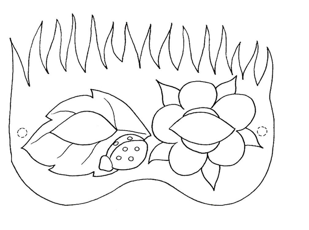 Maschere per bambini di carnevale for Maschere da colorare di spiderman