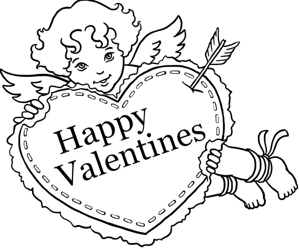 Disegni Da Stampare E Colorare Per San Valentino