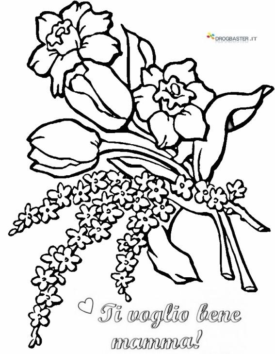 Auguri mamma speciale festa della mamma disegni per bambini for Disegni da stampare e colorare fiori