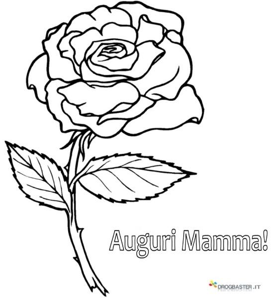 Disegni da colorare e stampare di rose fare di una mosca - Immagini da colorare di rose ...
