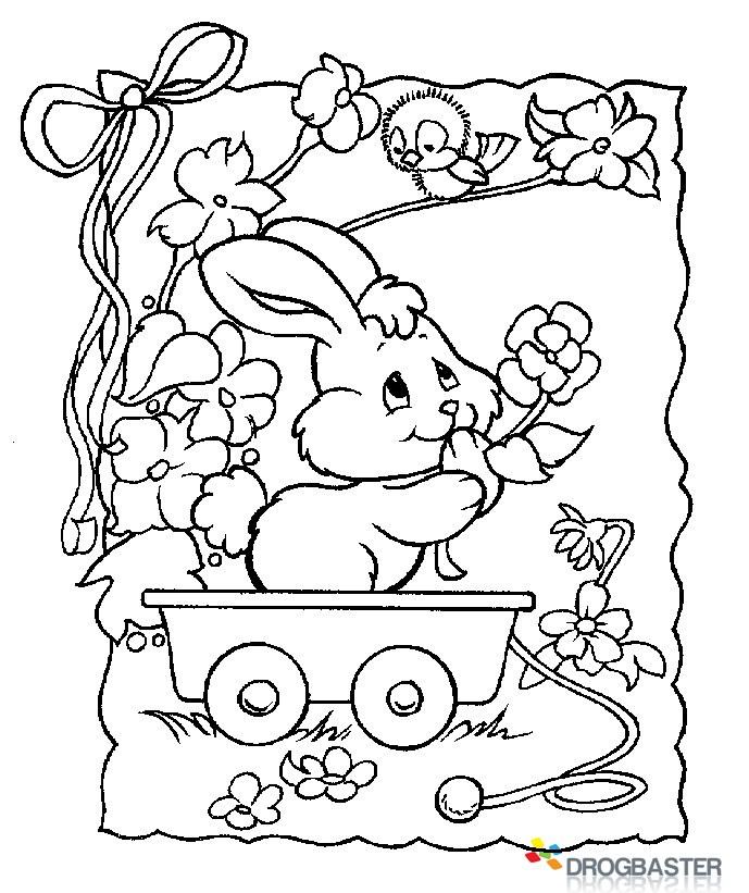 disegni da colorare e stampare gratis pasqua