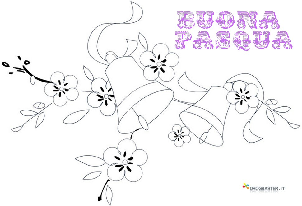 Disegni di pasqua da stampare e colorare per bambini - Disegni di coniglietti per bambini ...