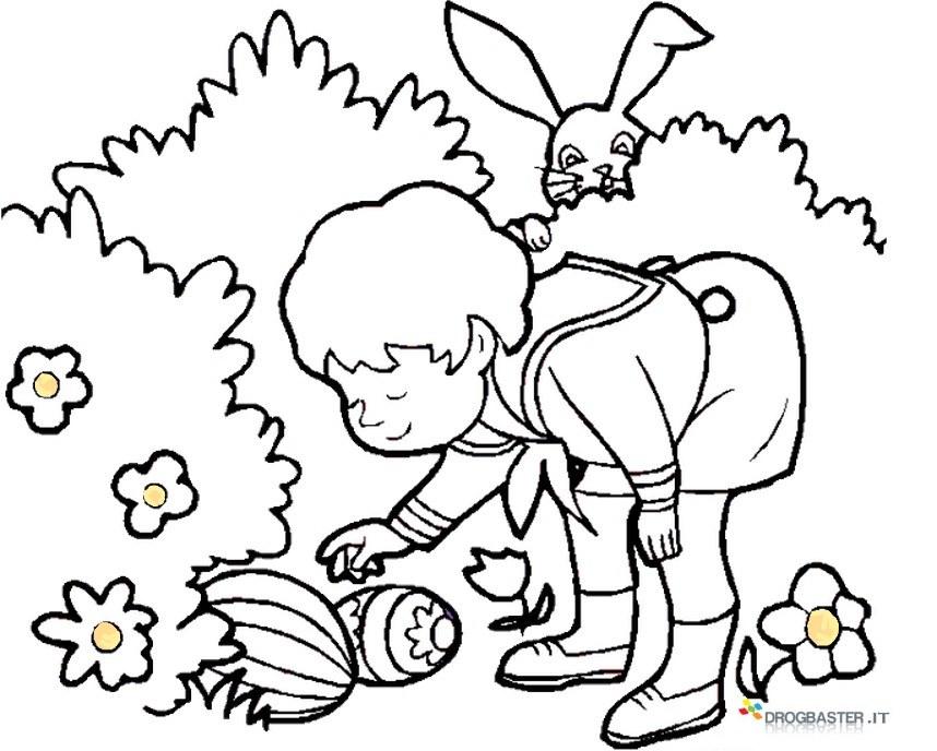 Speciale disegni per bambini da colorare per pasqua for Foto per bambini da colorare