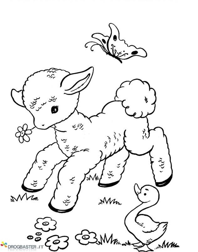 Speciale disegni per bambini da colorare per pasqua - Immagini di pony gratis da stampare ...