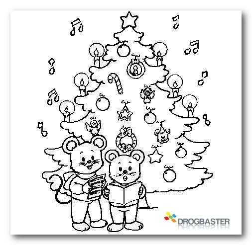 Alberi Di Natale Da Colorare Simple Albero Di Natale Palline Di