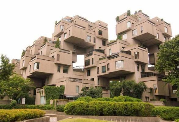 habitat 67 costruzioni più strane del mondo