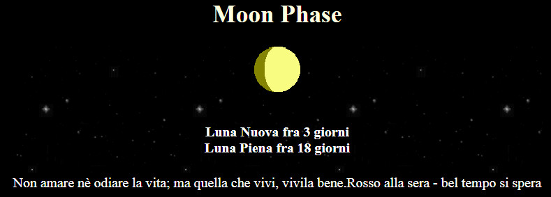 current phase moon