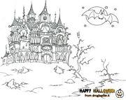 luna castello pipistrello fantasmi