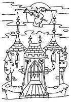 Disegno di un Castello stregato