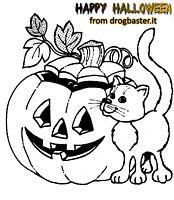 Disegni di Halloween da stampare e colorare