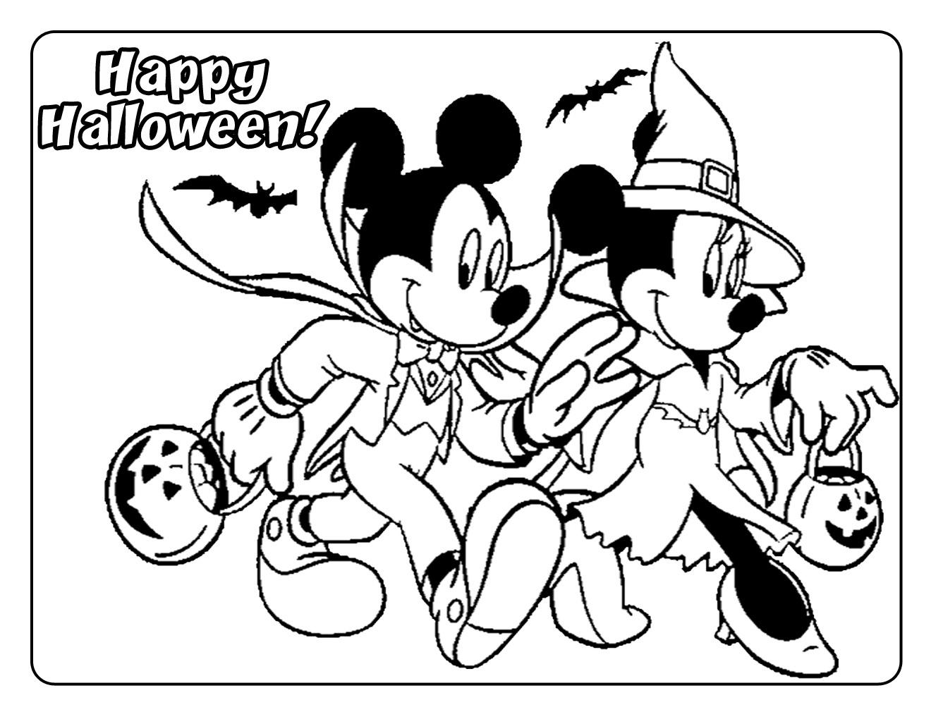 Halloween disegni per bambini da