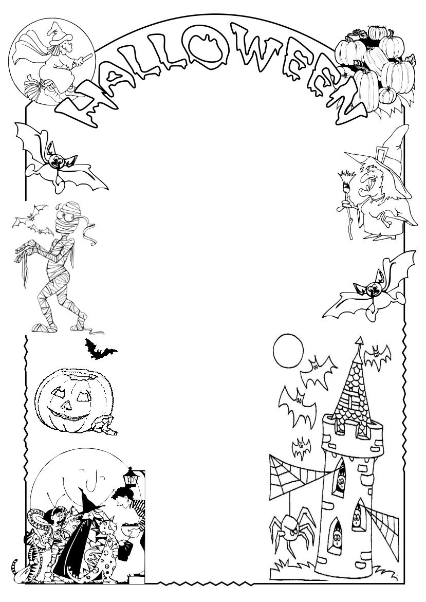 Halloween Disegni Per Bambini Da Colorare Gratis