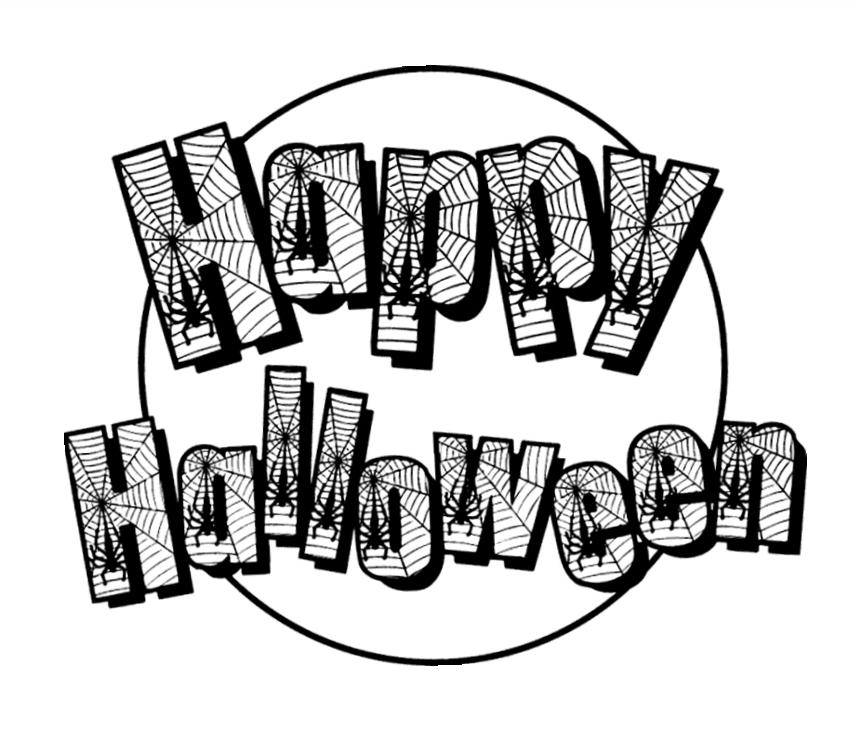 Super Disegni halloween per bambini da stampare e colorare OM23