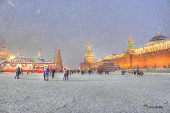 Foto immagine del Capodanno a Mosca