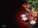 Capodanno bicchieri auguri