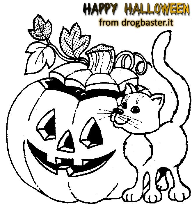 Disegni Halloween Per Bambini Da Stampare E Colorare