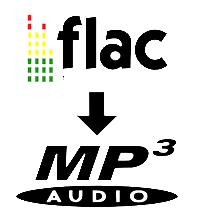 convertire FLAC in MP3