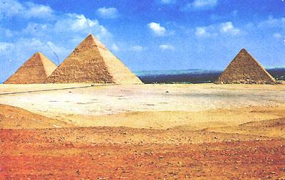 Le Piramidi  a Giza