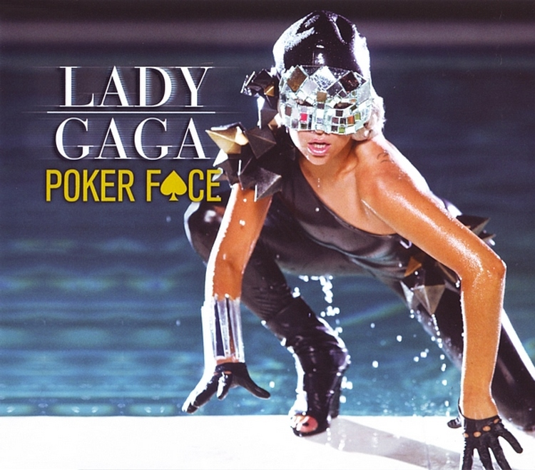 foto Lady Gaga Poker Face