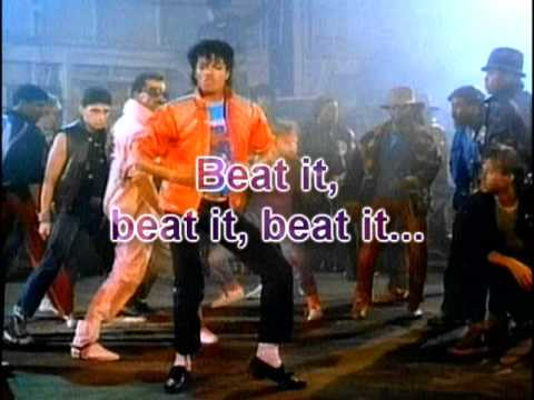 foto Michael Jackson Beat it
