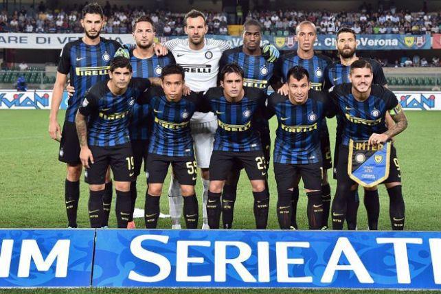 Foto di gruppo squadra del Inter