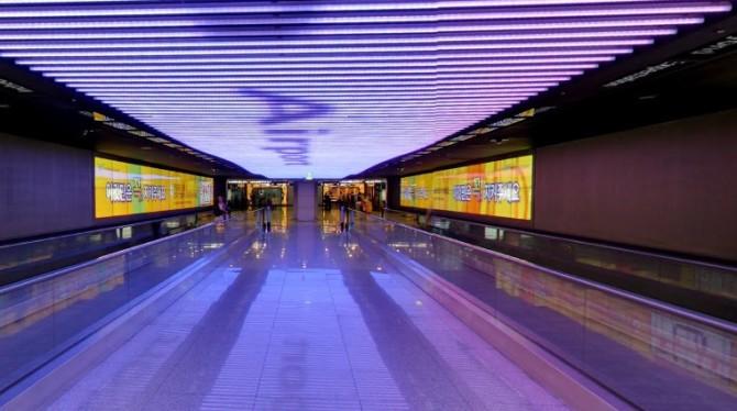 interno aeroporto Internazionale di Seul-Incheon, Corea del Sud