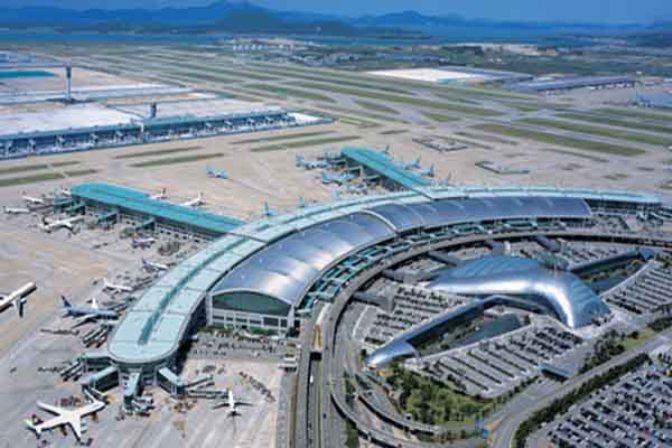 Aeroporto Internazionale di Seul-Incheon, Corea del Sud