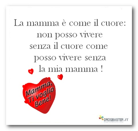 belle frasi x la mamma