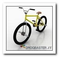 collezzione immagini ascii con bicicletta