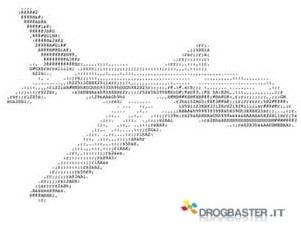 immagini in ASCII aereo