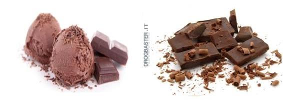 gelato al cioccolato fatto in casa