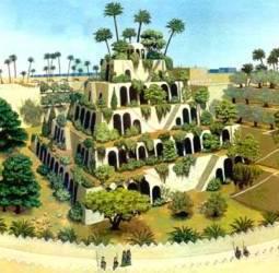I Giardini Pensili Di Babilonia Sette Meraviglie Del Mondo Antico