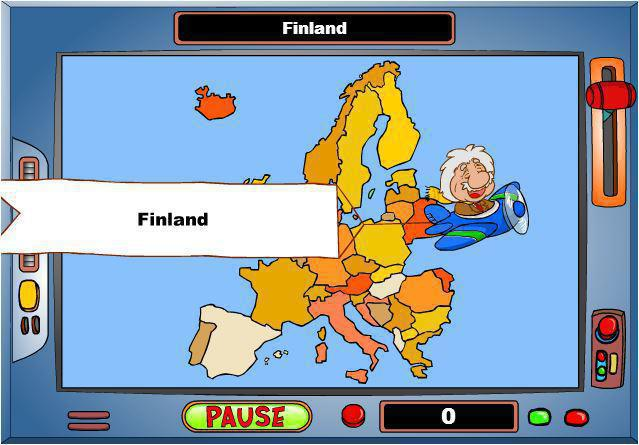 screenshots del gioco geografia europa