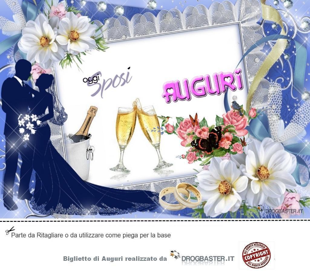 Auguri Matrimonio Bellissimi : Biglietto da stampare gratis in occasione matrimonio