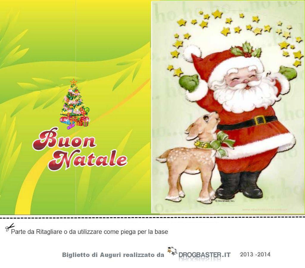 Preferenza Cartoline Colorate festa di Natale: biglietti auguri Fai da Te PE89